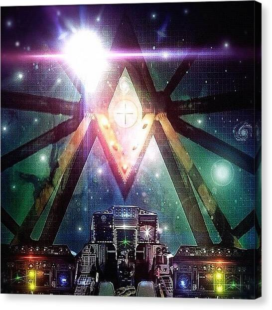 Sciencefiction Canvas Print - I Have Been Working On This For A by Phillip Martin