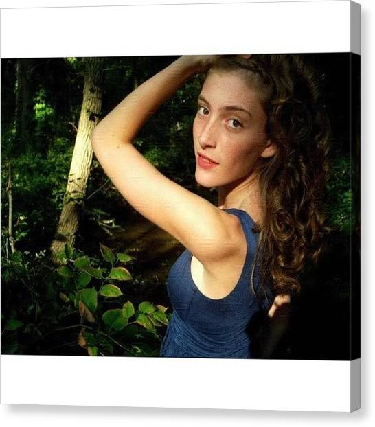 Fairies Canvas Print - I Haven't Taken Pictures In Forever! by Tori Gatanis