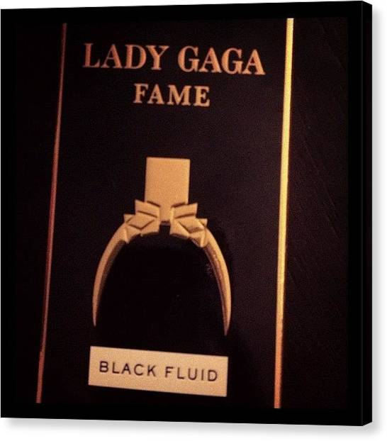 Fame Canvas Print - I Love This Smell! ❤ I Usually Don't by Myrtali Petrocheilou