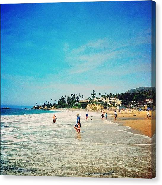 Mermaids Canvas Print - I Miss Laguna ☀🌊🏄🌴 by Mermaid Lifee