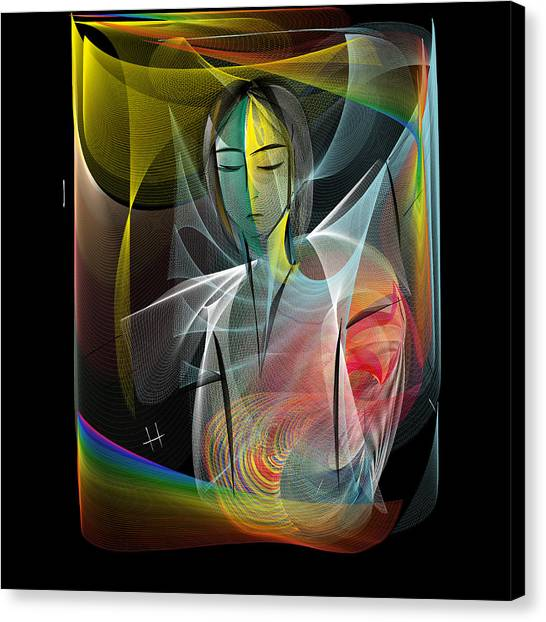 I Need Me Canvas Print by Hayrettin Karaerkek