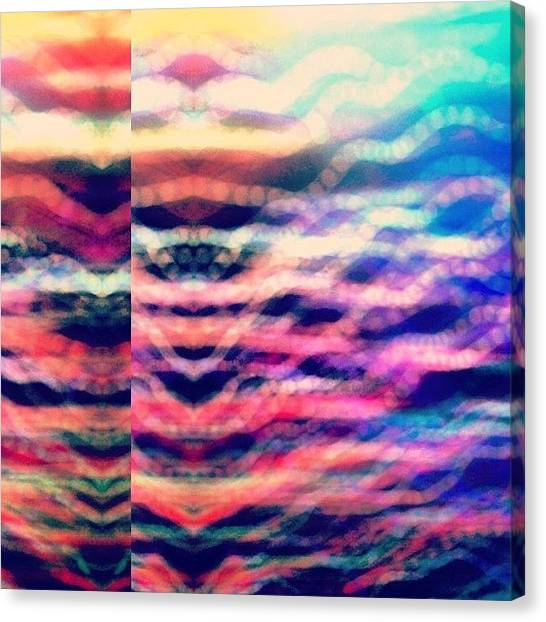 Fractal Canvas Print - I Really Like Playing With #decim8 😜 by T C