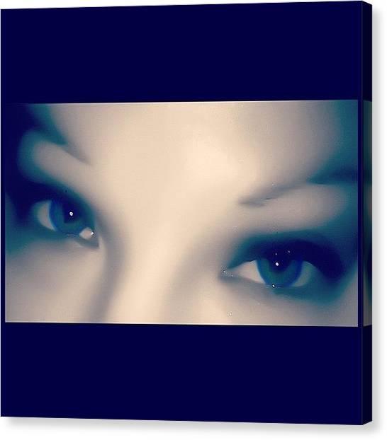 Irises Canvas Print - I See You by Julianna Rivera-Perruccio