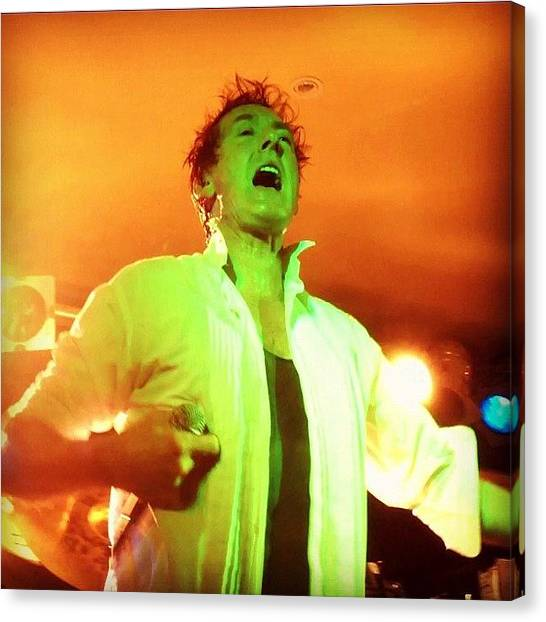 Bands Canvas Print - *่i Was Walking Down The Street Just by Cameron Bentley