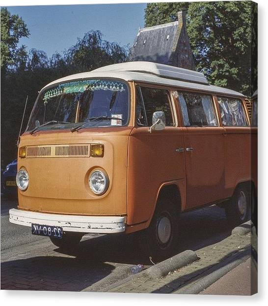 Volkswagen Canvas Print - I Will Give You A Mirror .. Just To by Andy Kleinmoedig