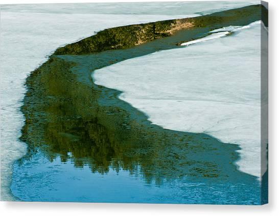 Ice Borders Canvas Print