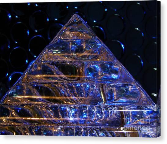 Ice Pyramid Canvas Print