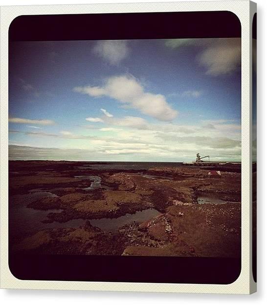 Volcanoes Canvas Print - #iceland #ijsland by Es Le