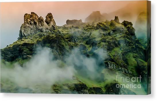Icelandic Mist Canvas Print