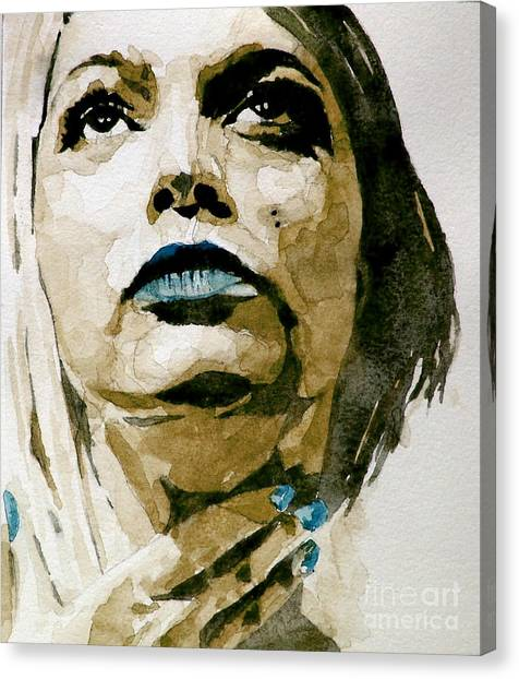 People Canvas Print - If There's A Big Guy Up There by Paul Lovering