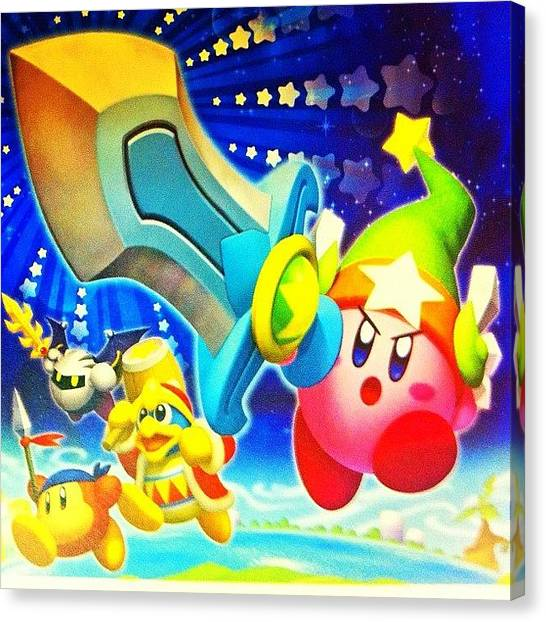 Video Games Canvas Print - #ig #igers #iphonesia #iphone by Victor Wong