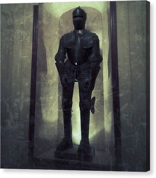 Horror Canvas Print - #igdungeon #knight#armor#art by Jenni Martinez