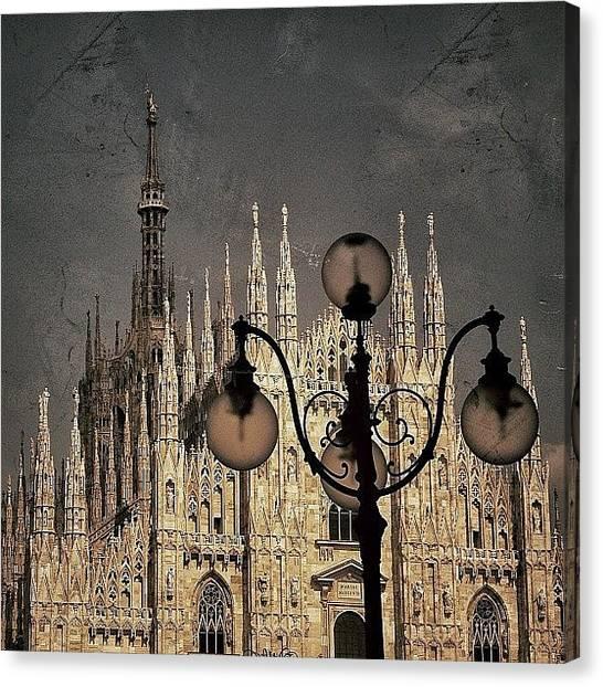 Retro Canvas Print - Il Duomo Di Milano - Milano by Joel Lopez