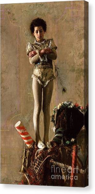 Il  Saltimbanco Canvas Print by Pg Reproductions