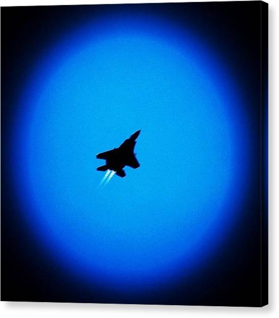 Jets Canvas Print - I'm Leaving On A Jet Plane🎶 | by Ji Lyn Ho