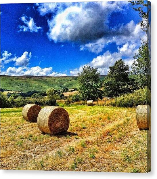 Pub Canvas Print - Image Created With #snapseed by Fay Pead