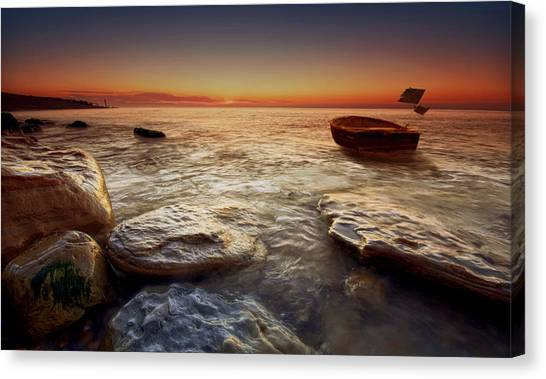 Imminent Sun Canvas Print by Mark Leader