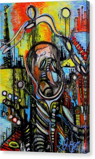 Impaired Judgement  Canvas Print by Jon Baldwin  Art