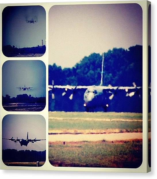Arkansas Canvas Print - in And Down #c130 #usaf #ig #igers by Roger Snook