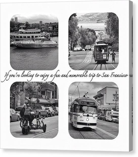 Iphone 4s Canvas Print - In Black And White by Jp Bernaldo