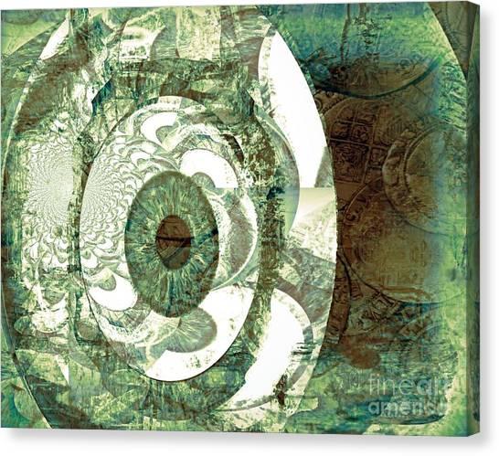 In God We Trust Canvas Print by Fania Simon