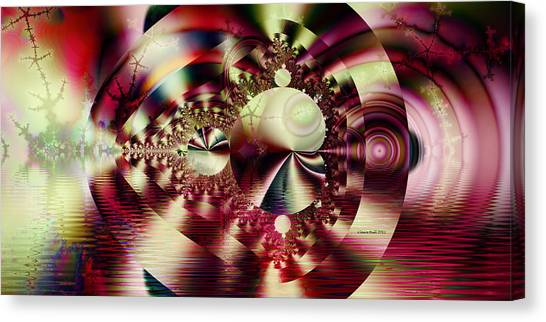 Ebsq Digital Canvas Print - In The Beginning by Claire Bull