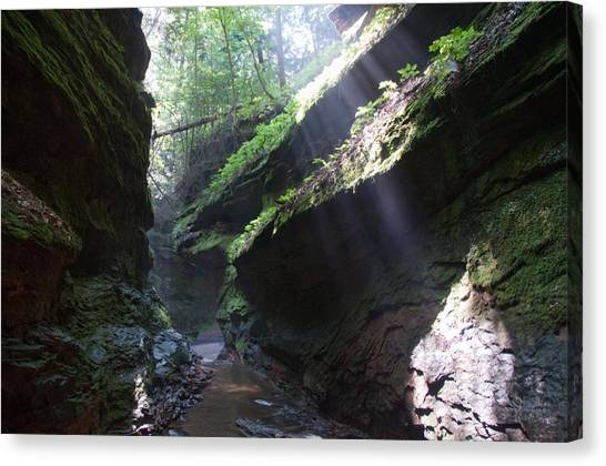 In The Cleft Of The Rock Canvas Print