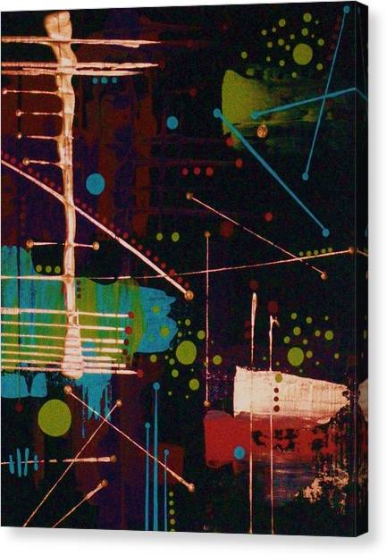 In The Still Of The Night Canvas Print by Charlotte Nunn