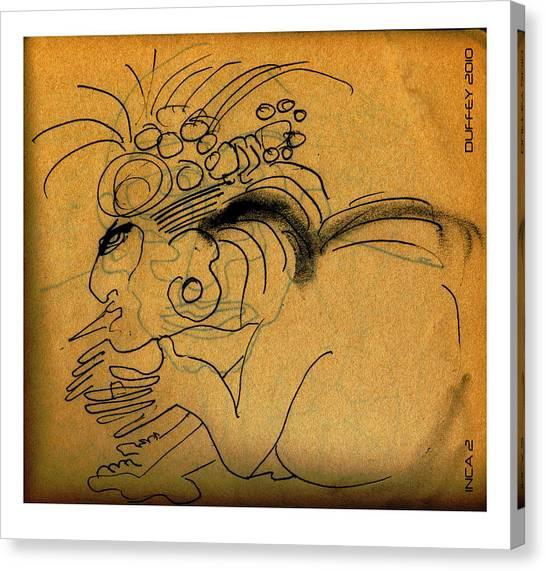 Inca 2 Canvas Print