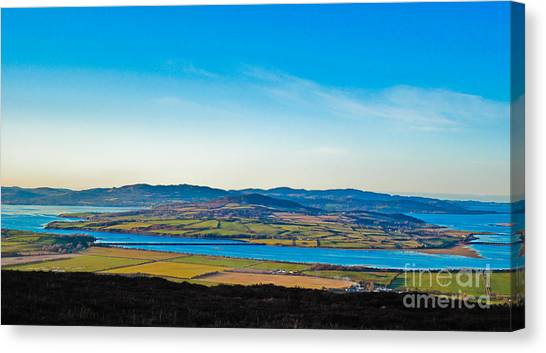 Inch Island County Donegal Ireland Canvas Print by Black Sun Forge