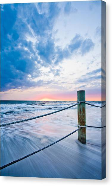 Incoming Tide Canvas Print by Adam Pender