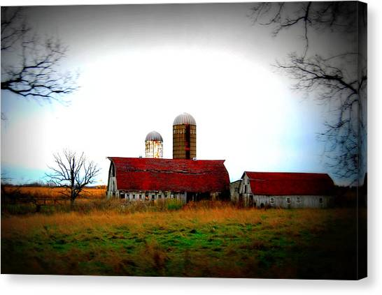 Indiana Barns Canvas Print
