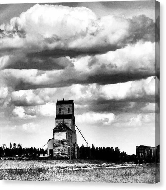 Saskatchewan Canvas Print - #indianhead #saskatchewan by Michael Squier