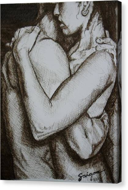 Indomitos Opus Canvas Print by SAIGON De Manila