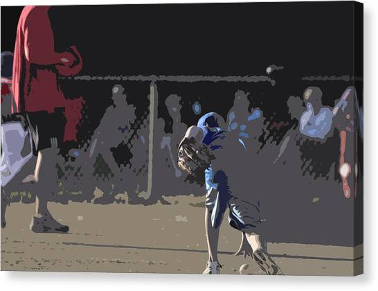 Infield Canvas Print by Peter  McIntosh