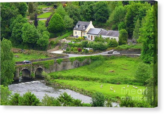 Inistioge In Ireland Canvas Print