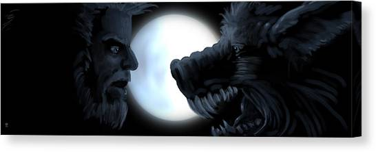 Inner Conflict Canvas Print by William McDonald