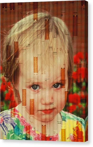 Innocence Tainted Canvas Print