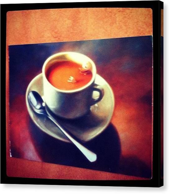 Mars Canvas Print - Inside The Cupboard Where The Coffee by Deirdre Mars