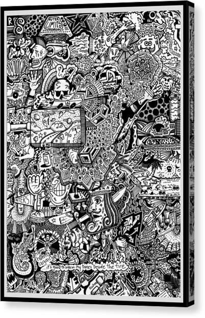 Insomnia Canvas Print