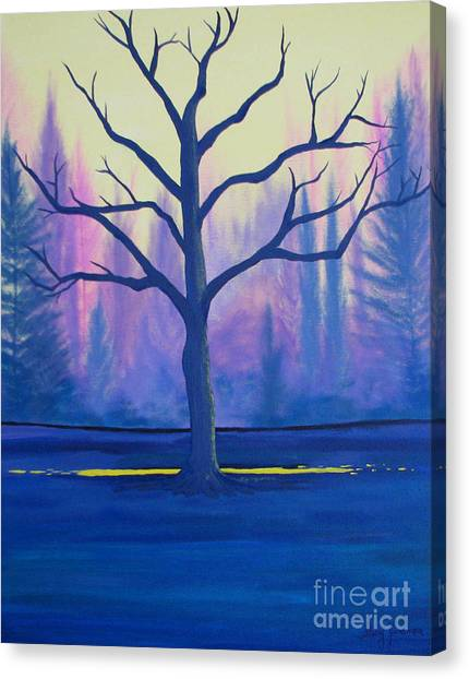 Inspiration Tree Canvas Print