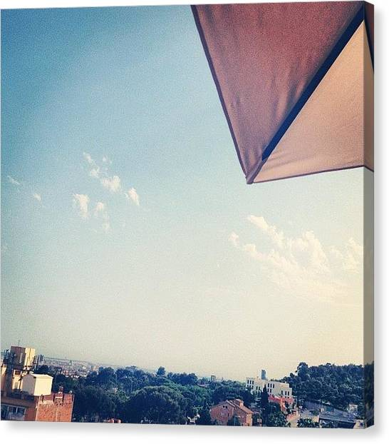 Barcelona Canvas Print - #instagain #photooftheday #picoftheday by Elisabet Dominguez