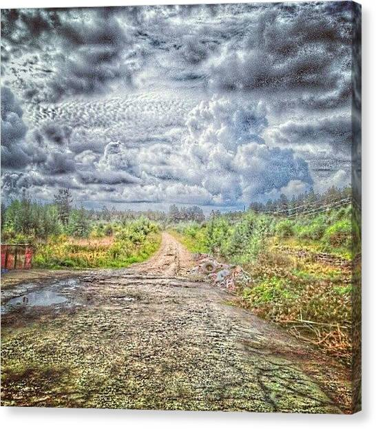 Ufos Canvas Print - #instagram #autumn #awesome #art by Leopoldo Ulivieri