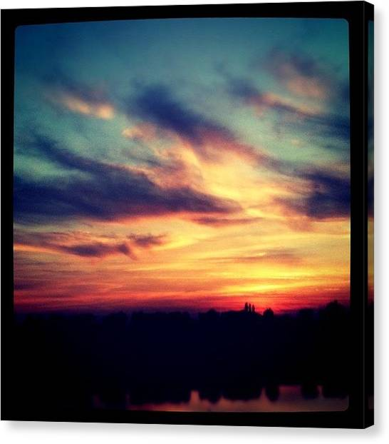 Norfolk Canvas Print - #instagram #instadaily #iphoneonly by Just Berns