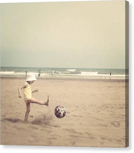 Soccer Canvas Print - #instagram #instagood #statigram by Soredewa Seitai