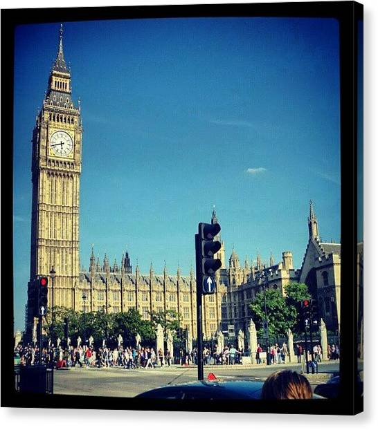 Big Ben Canvas Print - Instagram Photo by Luis Herrador