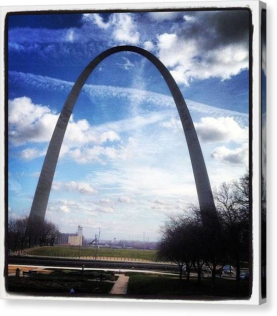 Landmarks Canvas Print - Instagram Photo by Shawn Wood