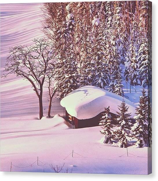 Tagstagram Canvas Print - #instahub #instagood #instalove by Tommy Tjahjono