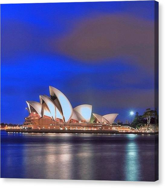 Vacations Canvas Print - #instralia #australiagram #oz #sydney by Tommy Tjahjono