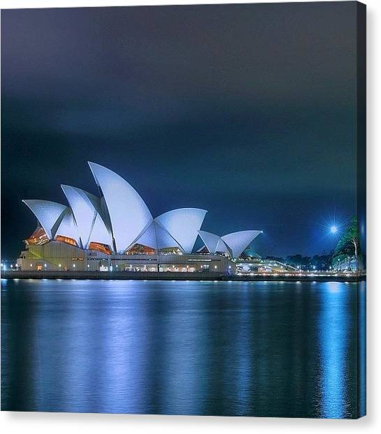 Travel Canvas Print - #instralia #seeaustralia #australiagram by Tommy Tjahjono